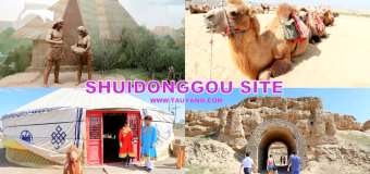 Shuidonggou Site in Yinchuan Ningxia china