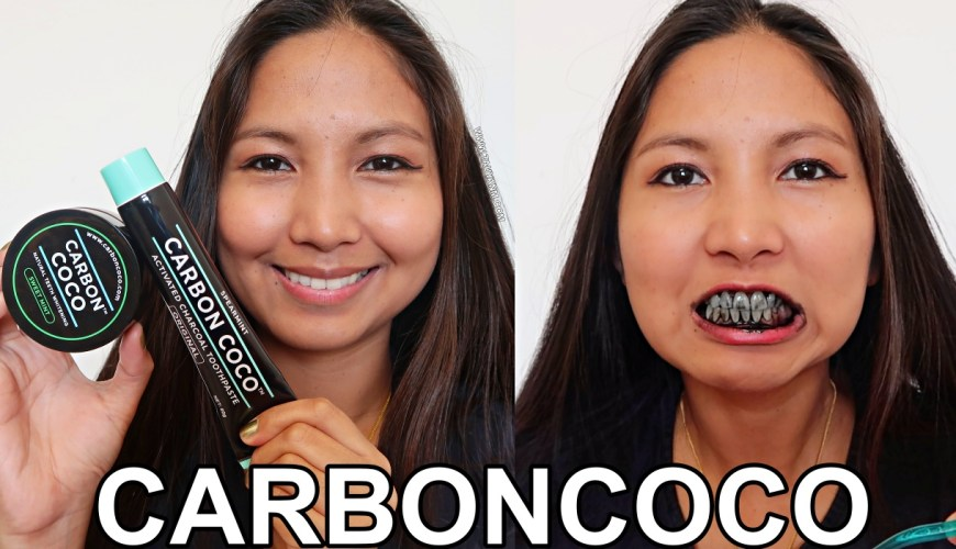 CARBONCOCO, DUBAI BLOGGER, FILIPINO BLOGGER, CHARCOAL TEETH WHITENING