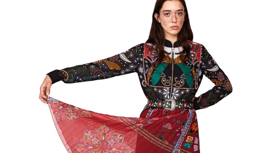 WOMAN COLLECTION DESIGUAL SPRING SUMMER 2019 - COLOUR ME - dubai blogger, dubai fashion blogger, tauyanm, jane fashion travels