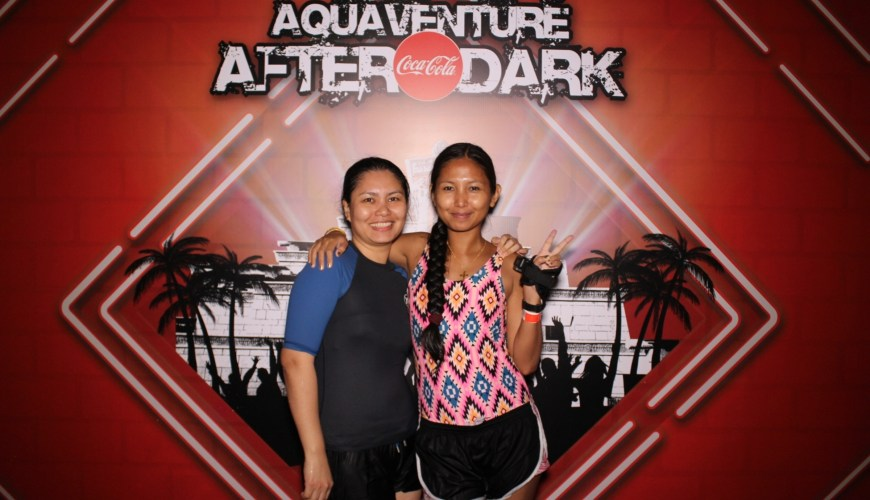 aquaventure after dark pool party, aquaventure water park,atlantis the palm, dubai blogger, tauyanm, jane fashion travels, insydo dubai, filipino blogger v