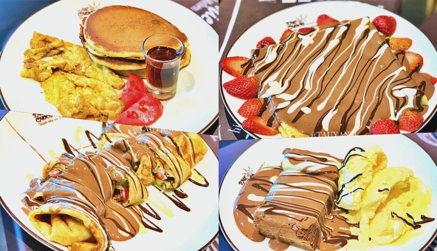 THE CHOCO MONARCH, J3 MALL, CHOCOLATE PANCAKE, CHOCOLATE ADDICTION, TAUYANM, DUBAI BLOGGER