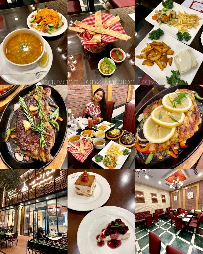 IL Forno UAE, Italian Restaurant, Dubai Food blogger, jane fashion travels, italian food, filipino bloggers in dubai