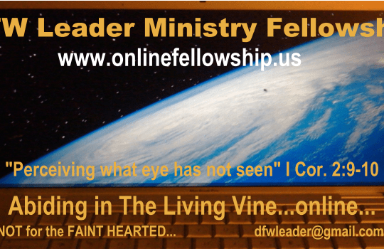 MINISTRY APOSTLE JESUS AND THE OVERSEER PHARISEES