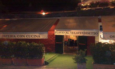 Flavio al Velavevodetto – sapori romani e bel dehor *Aggiornamento*
