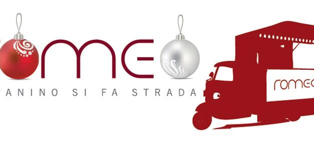 Sabato 20 dicembre Ape Romeo in versione Babbo Natale, solo per i lettori di Tavole Romane!