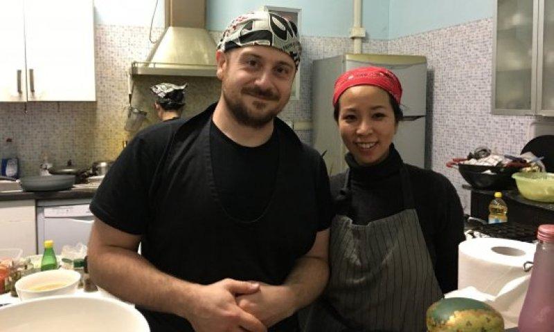 Waraku - Maurizio e Miwako