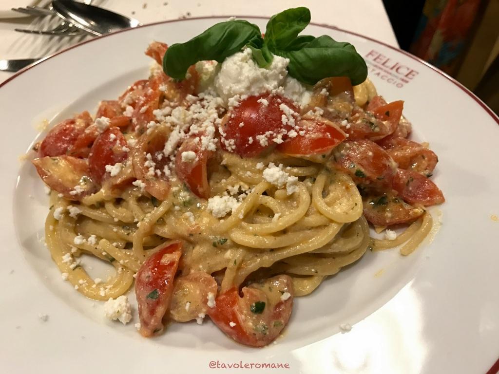 Felice a Testaccio - Spaghetti alla Felice