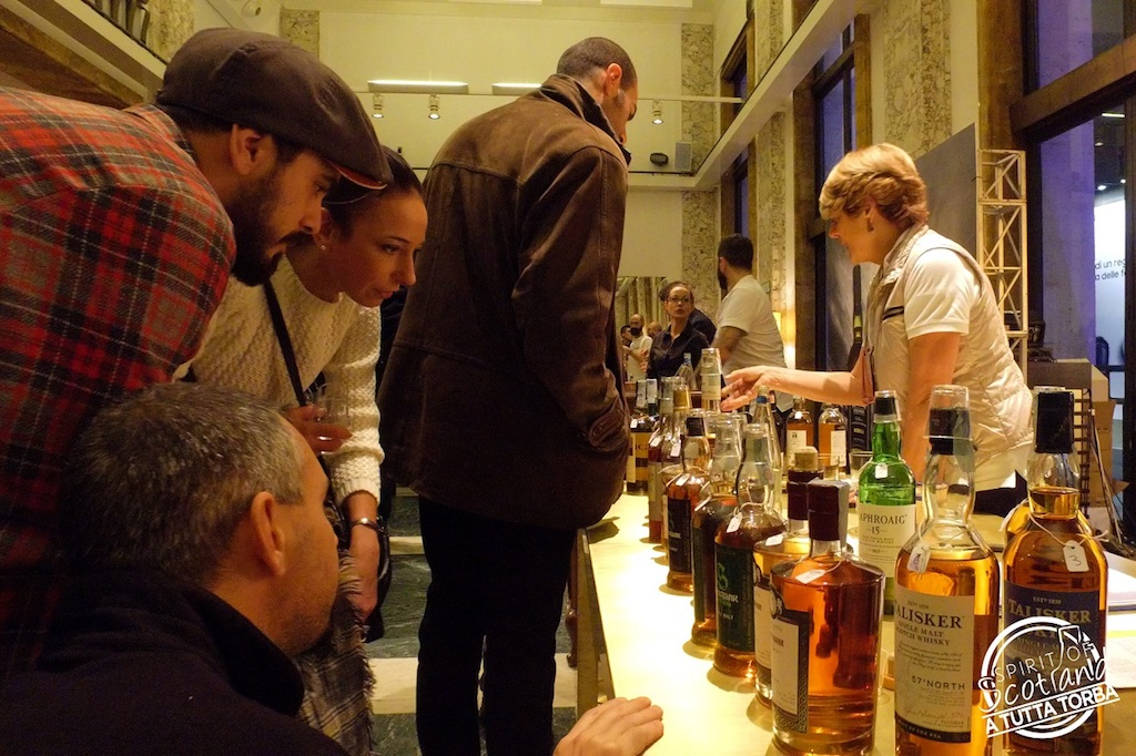 Whisky torbati Roma 3 dicembre 2017