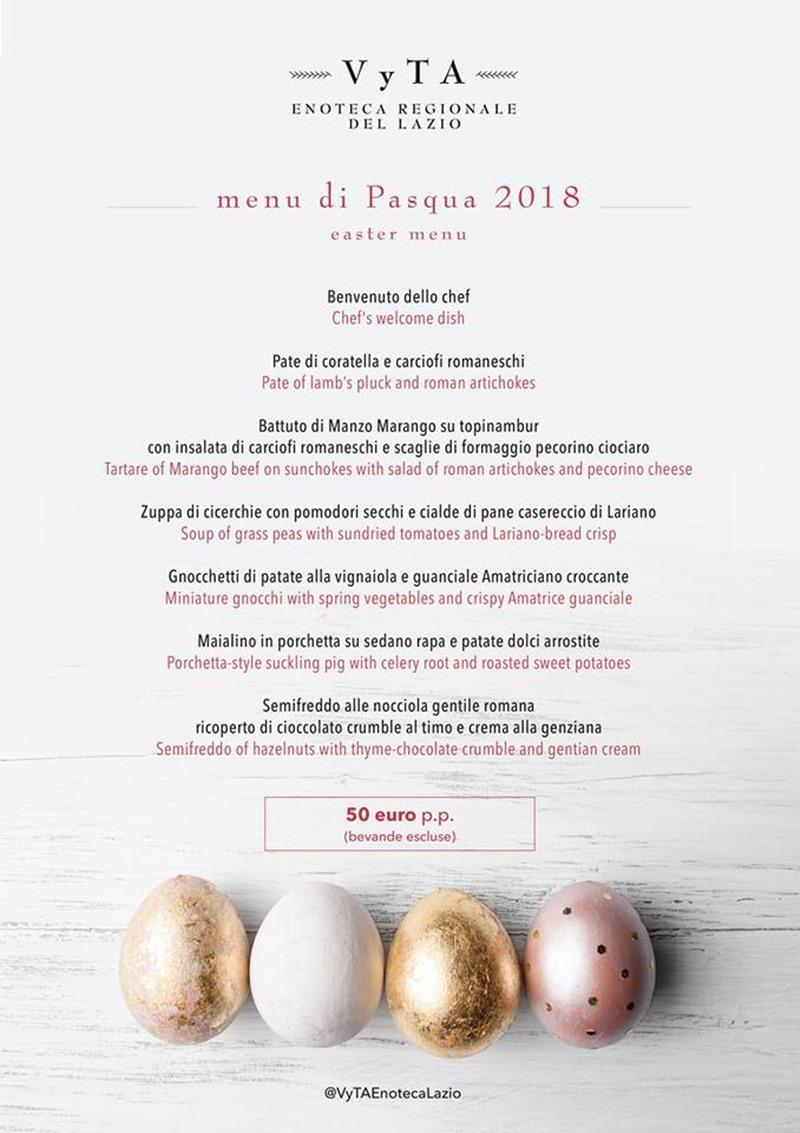 Pasqua e Pasquetta 2018 - Vyta