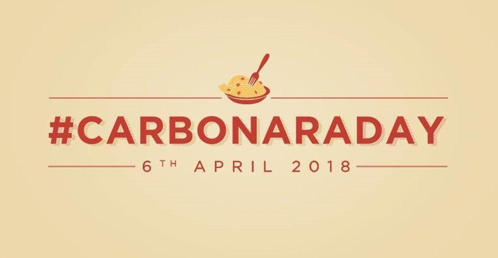 Carbonara Day 2018: oggi 6 aprile la festa dedicata al piatto simbolo della tradizione a Roma