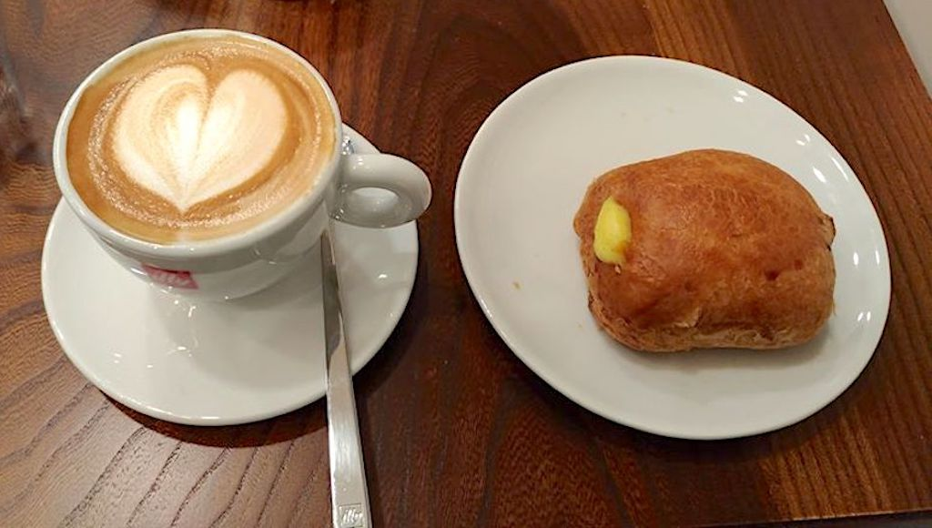 Giada Food Lab - cappuccino e fagottino