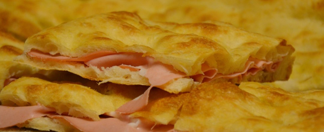 Forno Campo de Fiori - pizza e mortadella
