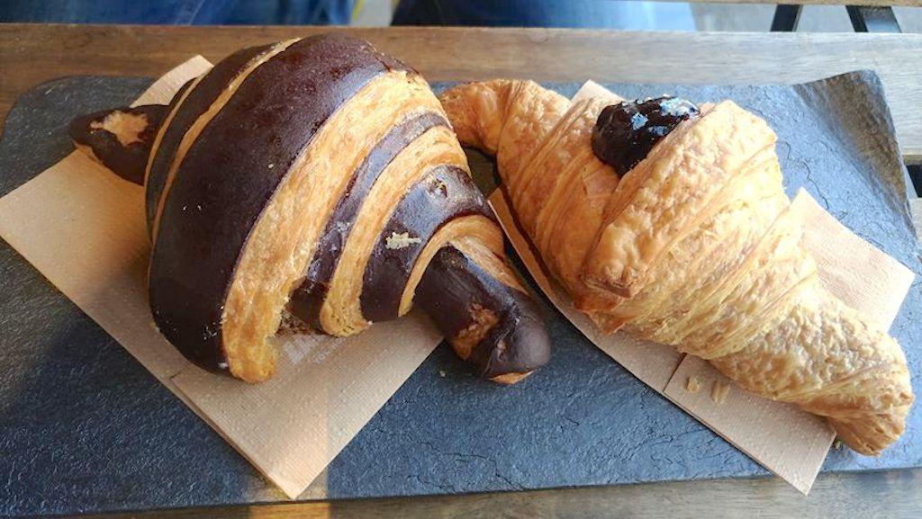 Sorelle Giordano - cornetti - cioccolato
