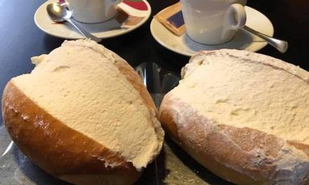 Sorelle Giordano a Cinecittà allieta già dall'ora della ricca colazione