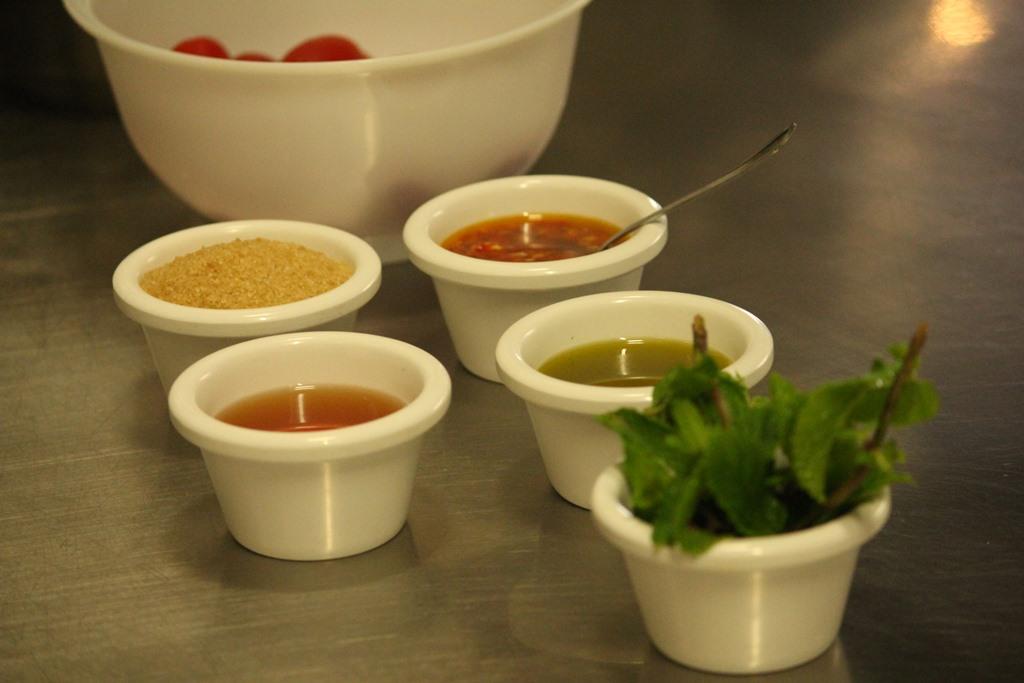 Cucina Romanesca - sabato - chutney