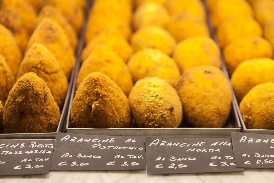 Le Sicilianedde-arancine