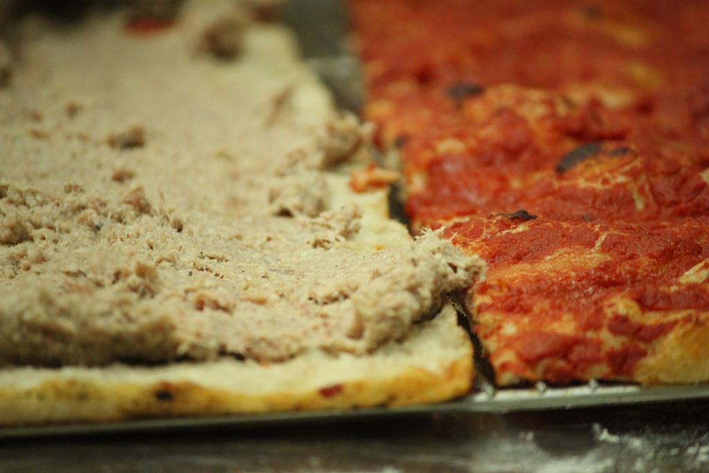 Cucina Romanesca - pizza cannelloni preparazione 3