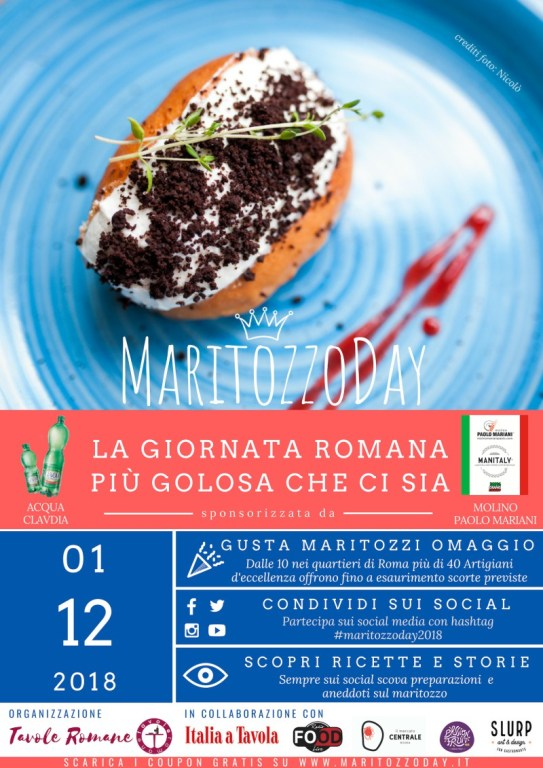 Maritozzo Day 2018 locandina