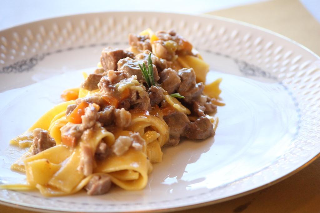 Cucina Romanesca - fettuccine