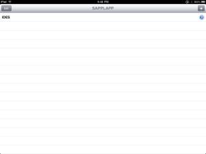 sapplapp System List