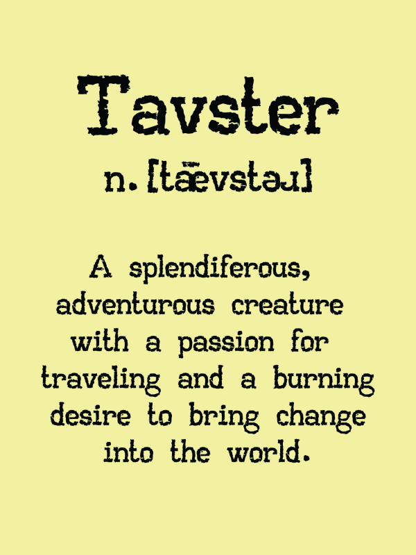 Tavster Definition