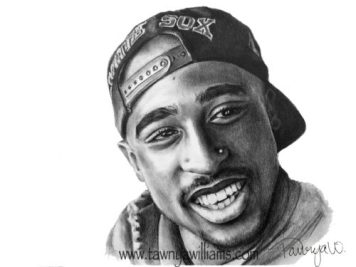Tupac, 2Pac, Tupac Shakur, Hip Hop Art, Hip Hop Legend, Rapper, Rap Art