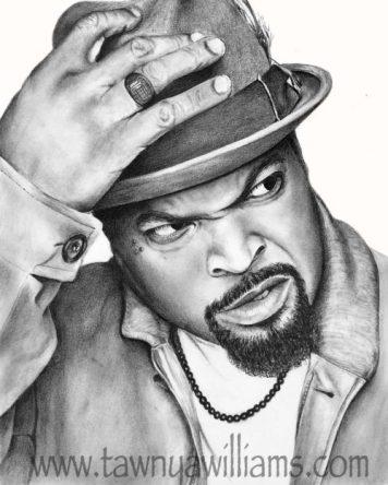 Ice Cube, NWA, Rapper, Rap Art, Hip Hop