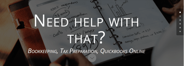 tax preparation, bookkeeping,  Quickbooks online