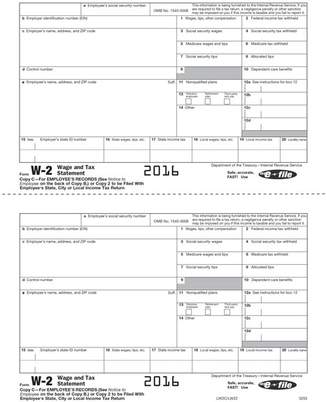 2016 Federal Employee Tax Withholding