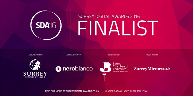 taxhelp.uk.com Surrey Digital Awards 2016 finalist
