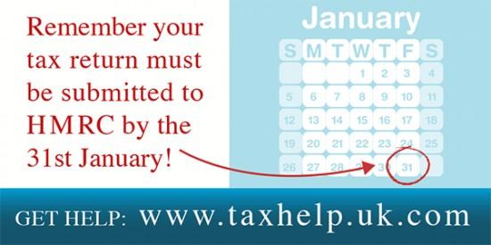 January 2014 HMRC tax deadline