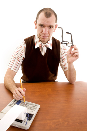 typical image of an accountant?