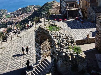 Escursione dal porto di Catania Taormina Castelmola