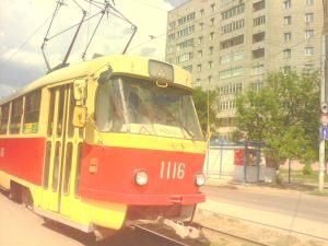 учебный трамвай