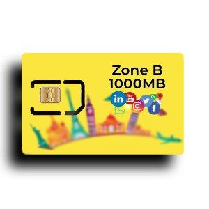 Zone B 1000 MB