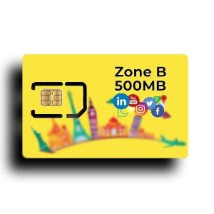 Zone B 500 MB