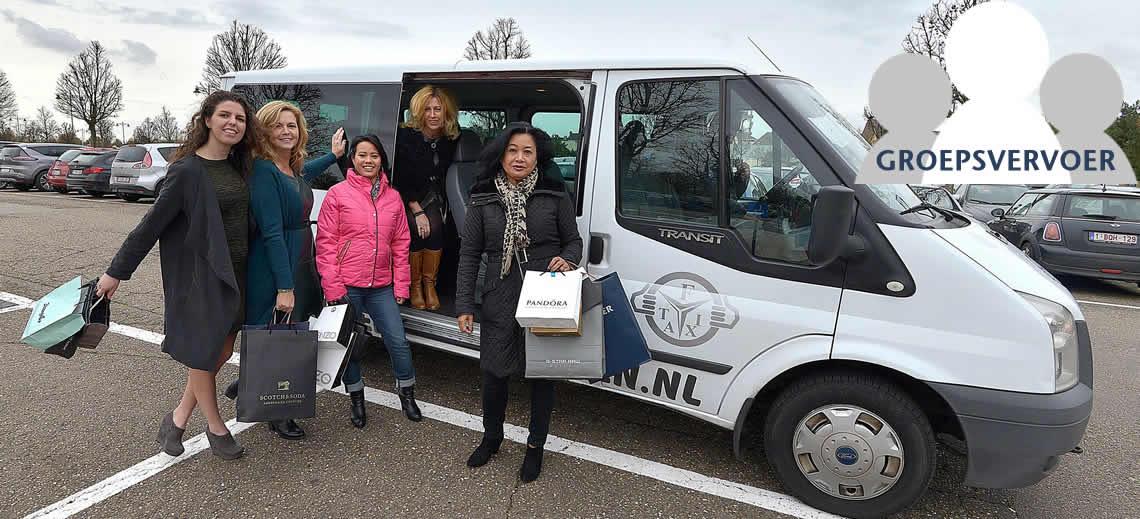 Groepsvervoer tot 8 personen in Limburg