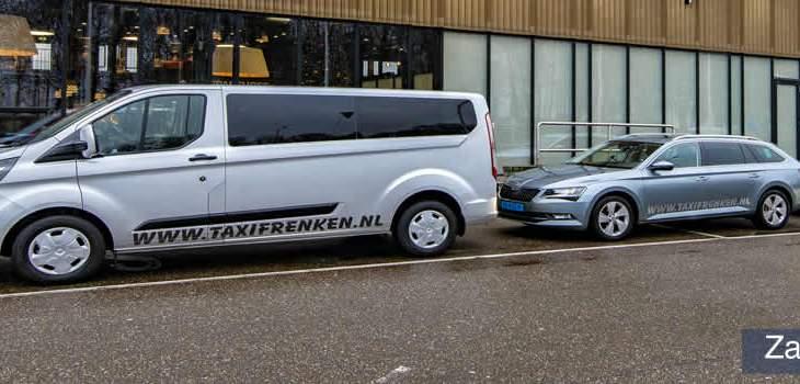 Zakelijk vervoer Taxi Frenken Stein