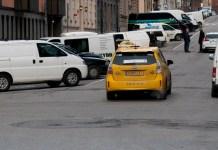 Smidigt att anlända med taxi