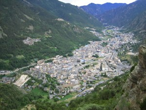 Andorra has just over twice the population of Liechtenstein, and looks a little like it too.