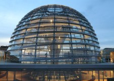 The dome of the Reichstag parliament building