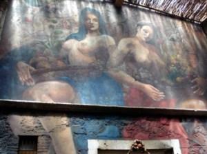 Cafe Europa Mural Morelia Michoacan