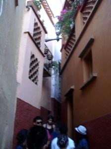 Guanajuato,Cervantino callejon del Beso....2012