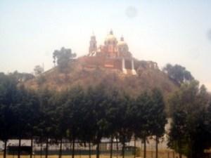 Iglesia sobre Piramide, Cholula Puebla