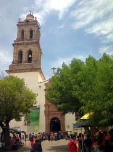 Parroquia de San JUan Bautista, Maravatio, Michoacan