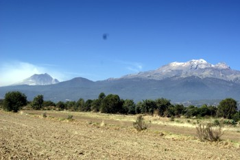 Popocatepetl-e-Iztaccihuatl-Puebla-Mexico
