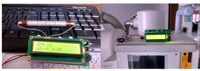 Μέτρηση της ραδιενέργειας σε περιβάλλον γραφείου και σε ακτινολογικό εργαστήριο