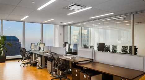 Un bureau new-yorkais époustouflant