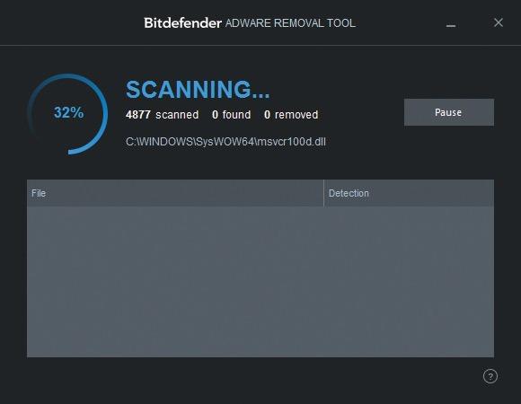 Tarayıcı eklentileri - Bitdefender-Adware-Removal-Tool