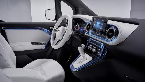 Mercedes EQT E-Van